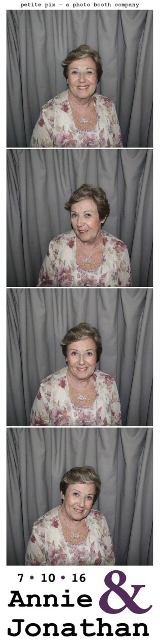 Petite Pix Classic Photo Booth at the Cicada Club in Downtown Los Angeles for Annie and Jonathan's Wedding 21