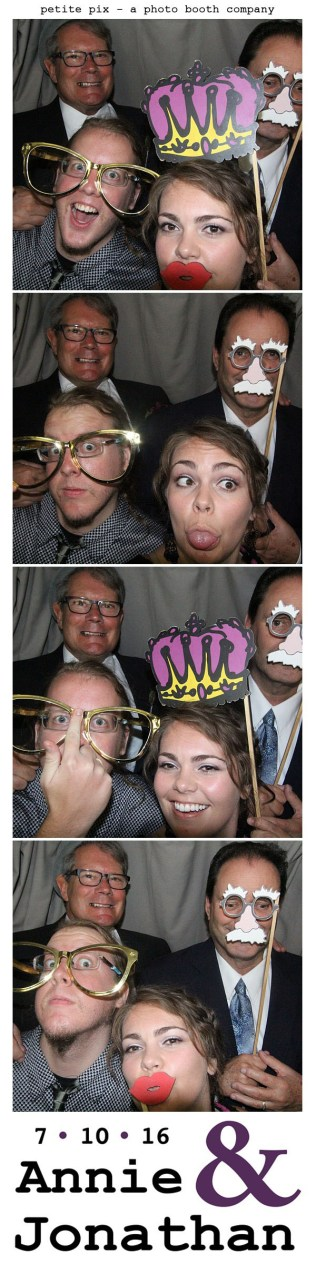 Petite Pix Classic Photo Booth at the Cicada Club in Downtown Los Angeles for Annie and Jonathan's Wedding 30