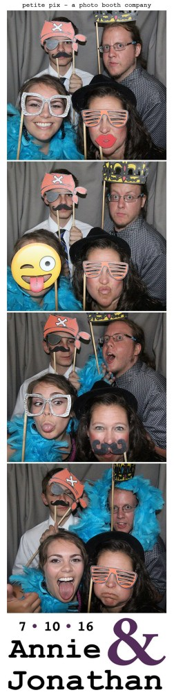 Petite Pix Classic Photo Booth at the Cicada Club in Downtown Los Angeles for Annie and Jonathan's Wedding 35