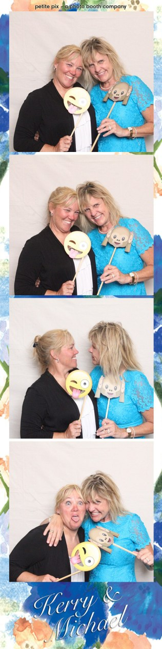 Petite Pix Vintage Photo Booth at the Redondo Beach Historic Library for Kerry and Michael's Wedding 30