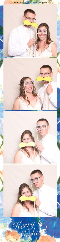 Petite Pix Vintage Photo Booth at the Redondo Beach Historic Library for Kerry and Michael's Wedding 45