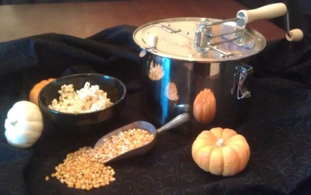 Popcorn Halloween Pic