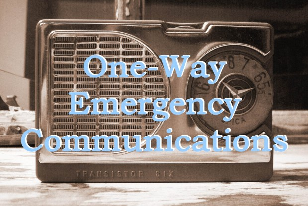One Way Emergency Comm Header