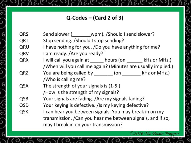 Green Comms Card - Q-Code Card 2