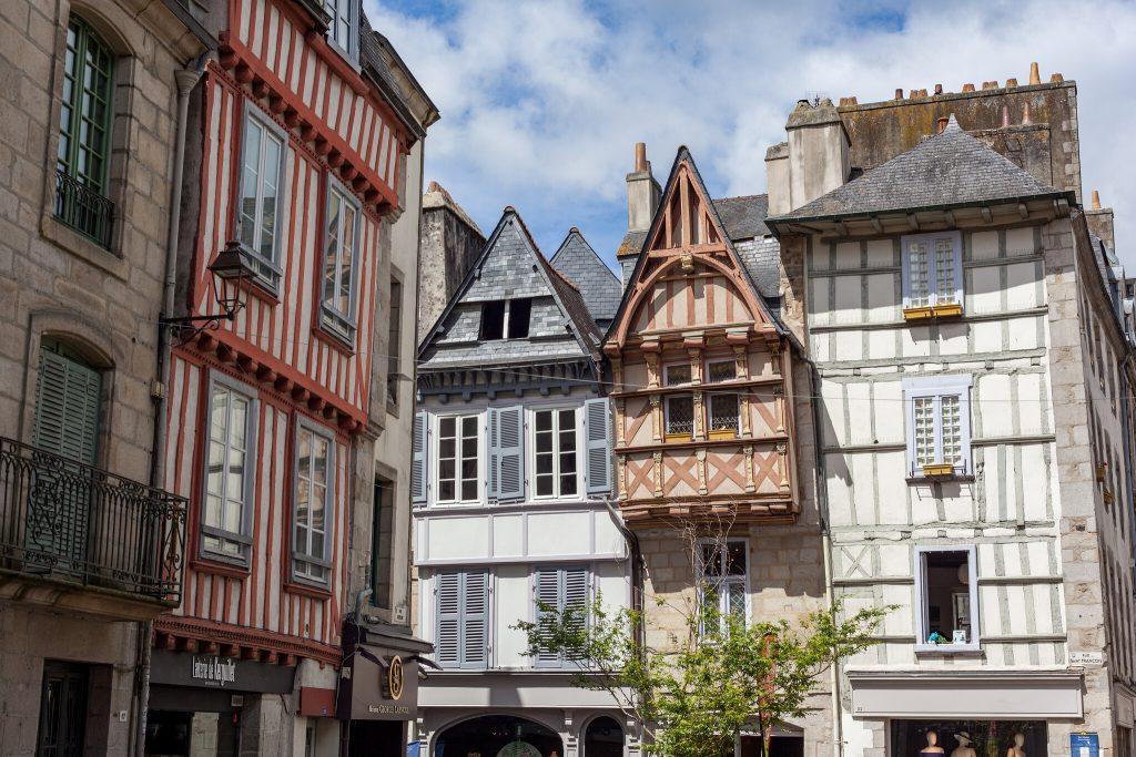 façades maisons quimper