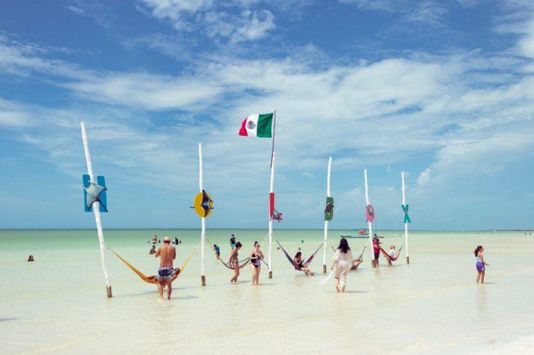 plage au mexique pour passer l'hiver au soleil