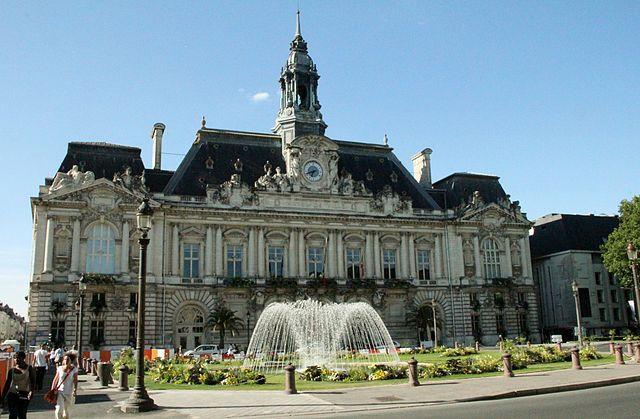 hotel de ville de la ville de Tours