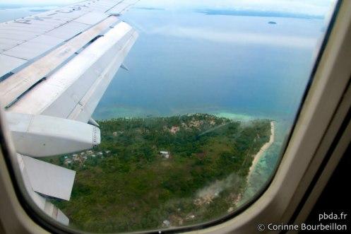 Arrivée à Raja Ampat. Papouasie, Indonésie, juillet 2012.