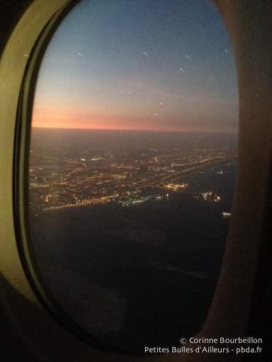 Les lumières de Dubaï. Janvier 2015.