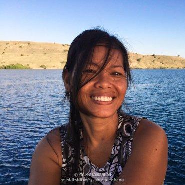 Le sourire radieux de Yani. (Komodo, Indonésie, juillet 2016)