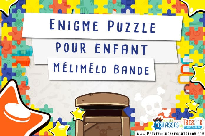 enigme puzzle pour enfant le m lim lo bandes. Black Bedroom Furniture Sets. Home Design Ideas