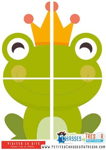 Jeu de la grenouille et du bisous pour un anniversaire