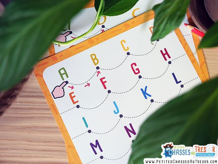 Apprendre les lettres de l'alphabet aux enfants