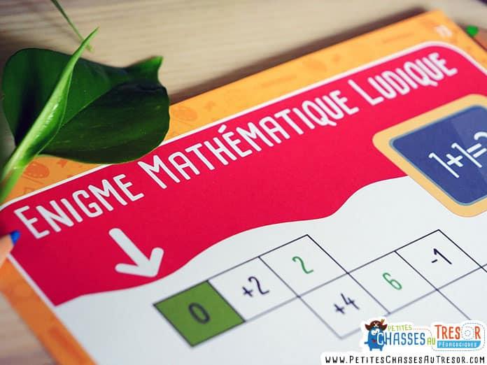Kit énigmes de mathématique à imprimer