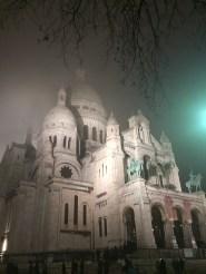 Still magnificent despite the freezing-cold fog.