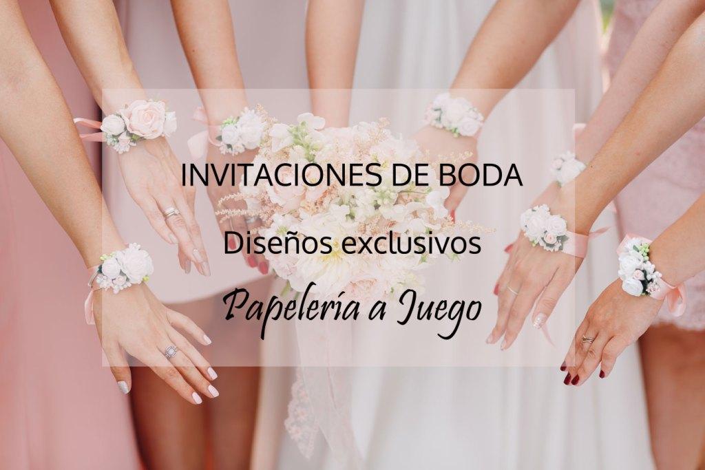 Invitación de boda Petitkokoro