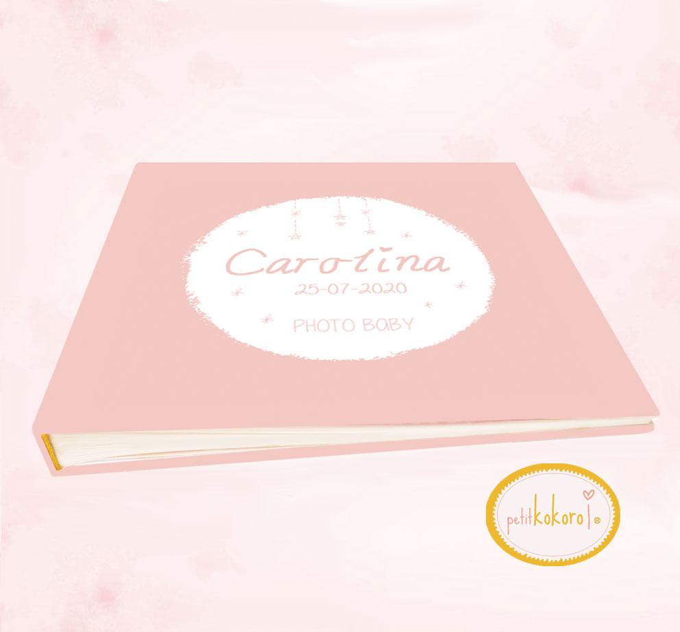 Libro de bebé modelo Carolina