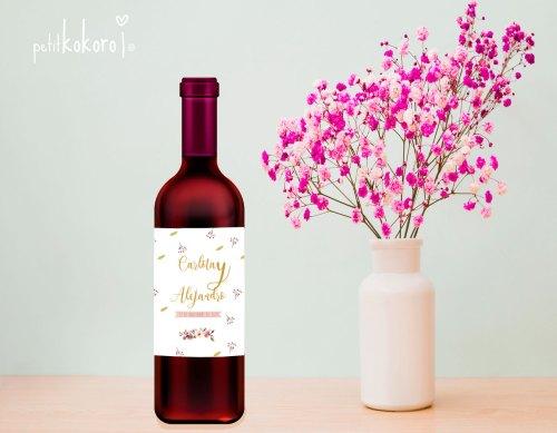 etiqueta-adhesiva-vino-boda-modelo-Orla-Floral-Acuarela-Petitkokoro