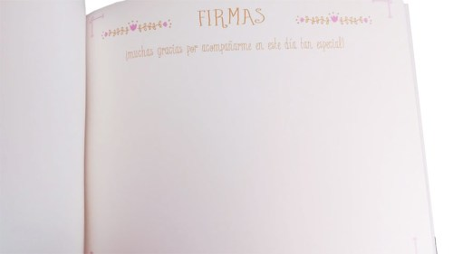 libro firmas comunión Petitkokoro