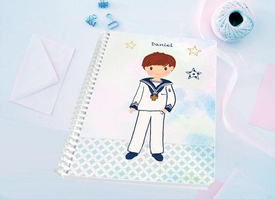 libreta regalo comunión niño Petit Kokoro