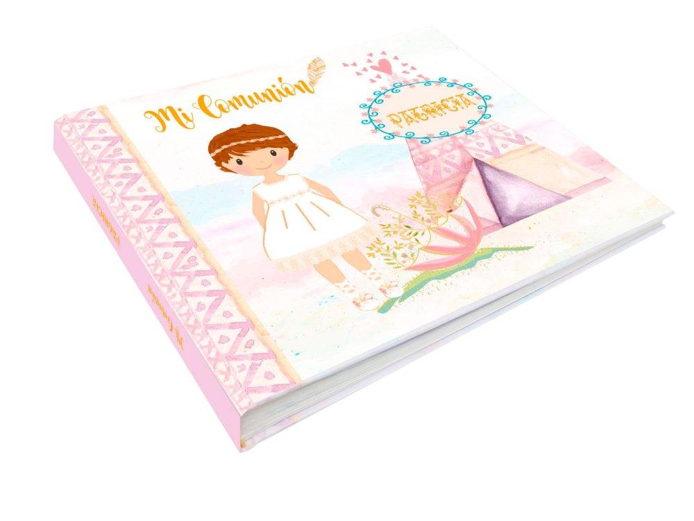 libro-de-comunión-niña-modelo-india