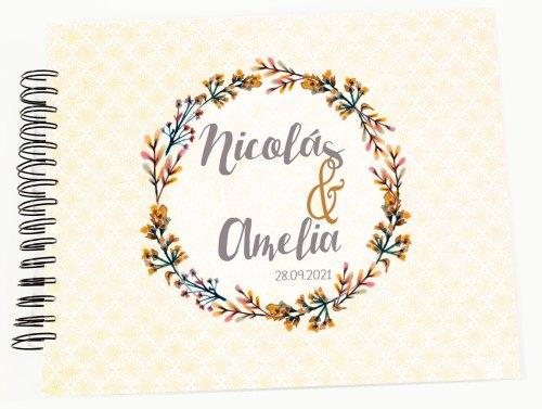 álbum personalizado firmas y fotos boda modelo Nicolás petitkokoro