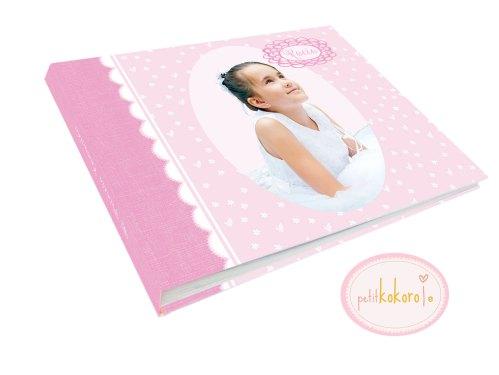 álbum de comunión modelo foto Rocío