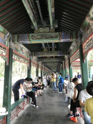 頤和園の長廊