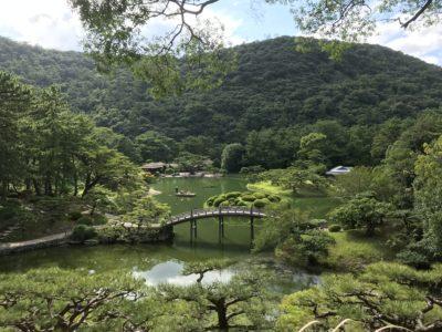 栗林公園の風景