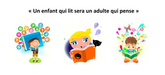la lecture et les enfants