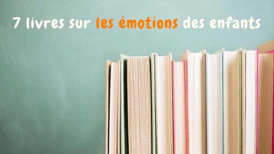 livres émotions enfants
