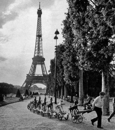 photographie de Paris par Robert Doisneau