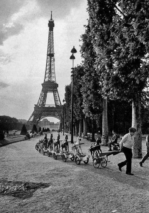 photographie de Paris par Robert Doisneau