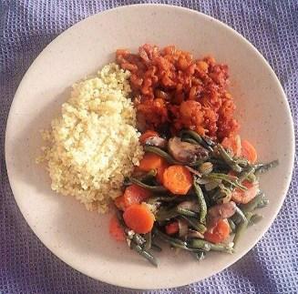 Légumes rôtis + PST