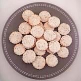 Biscuit sésame-citron-gingembre