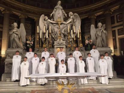 Messe des Cendres en l'église de la Madeleine à Paris