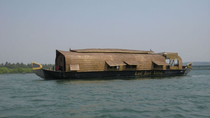 House boat Goa