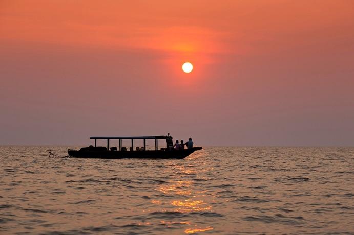Tonlé Sap Cambodge