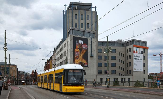 Tram M10 Berlin