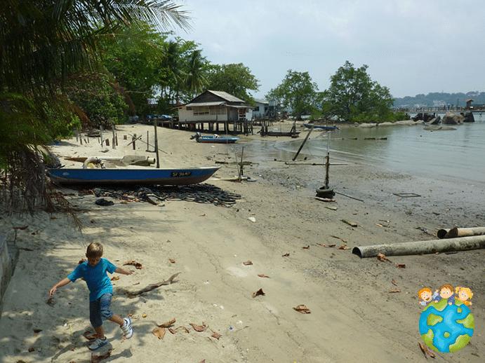 Plage Pulau Ubin