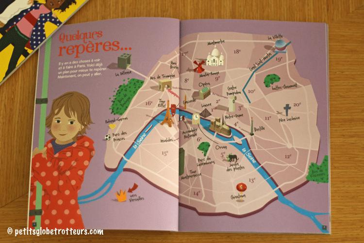 guide de voyage pour enfant