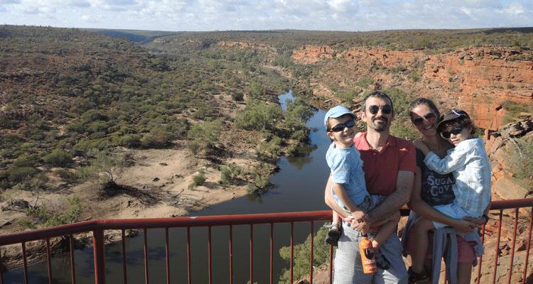 Circuit en Australie de l'ouest en famille
