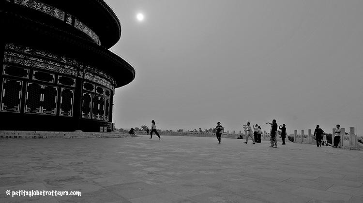 Pékin avec bébé