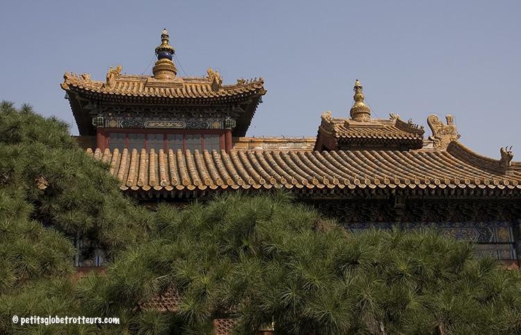 Temple du Lama avec bébé