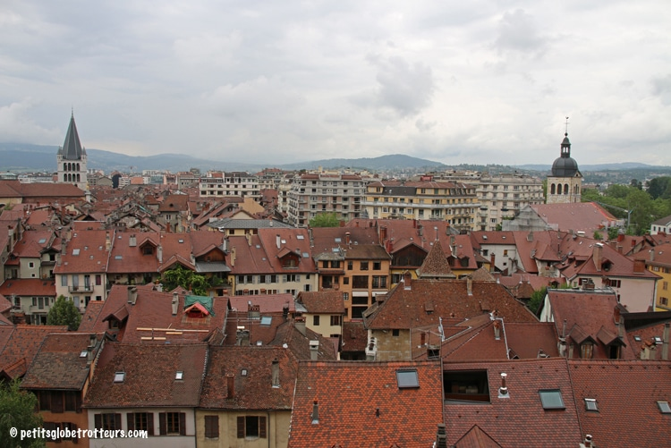Annecy en famille - Petits Globetrotteurs