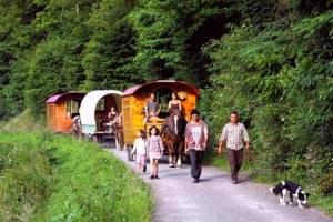 hébergement insolite dans le Morbihan des roulottes et des vies