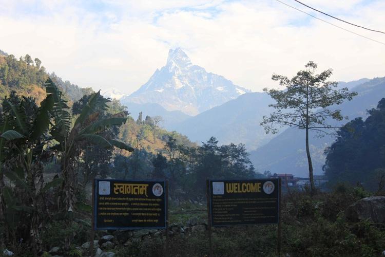 népal en famille trek