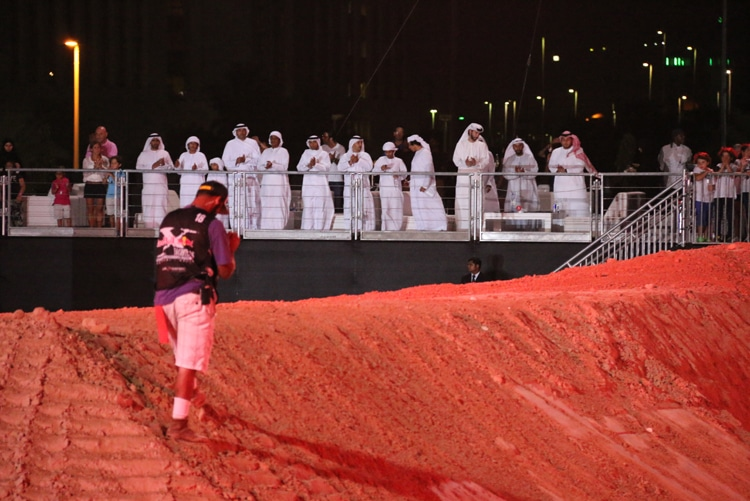 X Fighters 2015 Abu Dhabi