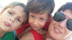 voyager seule avec 2 enfants