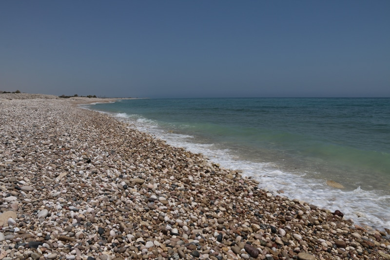 Plage Oman proche Bimah Hole